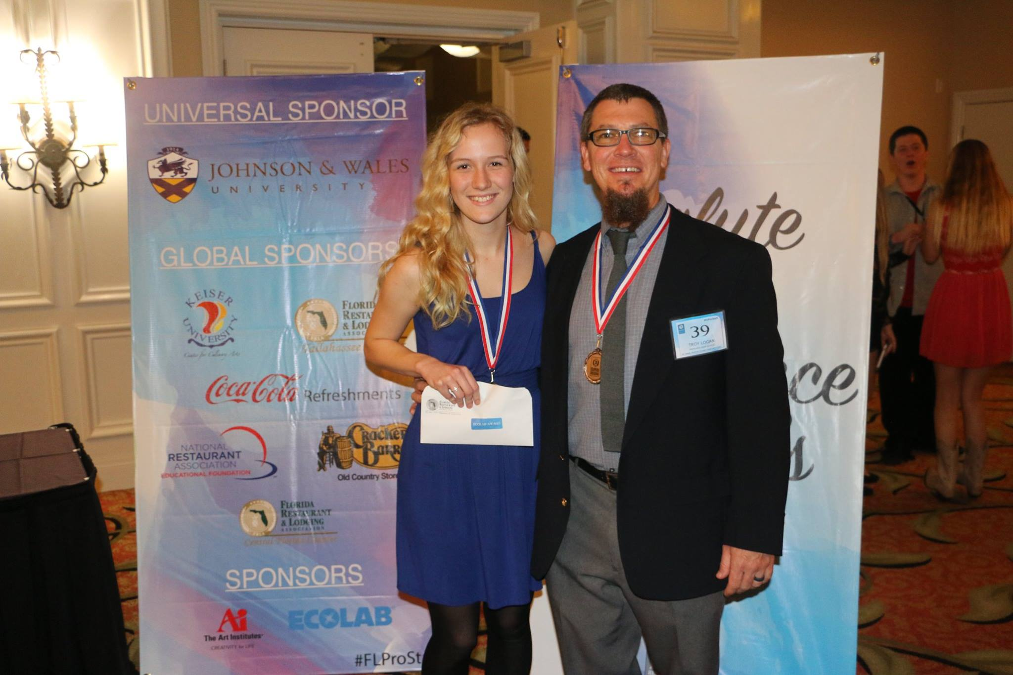 prostart newsbites frla ary 6 2016 at the rosen plaza hotel in orlando scholarship recipients must be pursuing a degree in culinary or hospitality see the awardees below