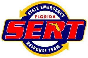 Florida State Emergency Response Team Logo