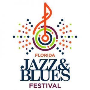 Florida Jazz and Blues Festival logo